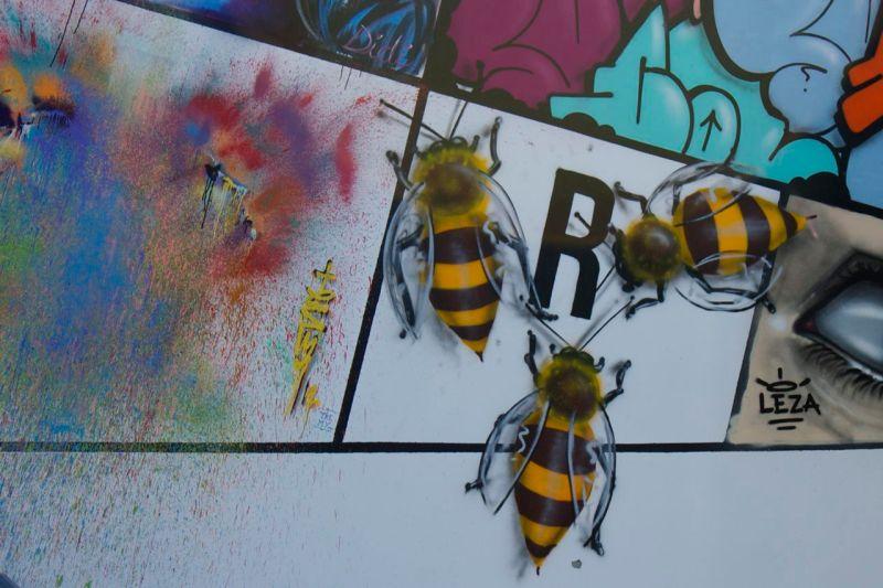 Mas abejas...