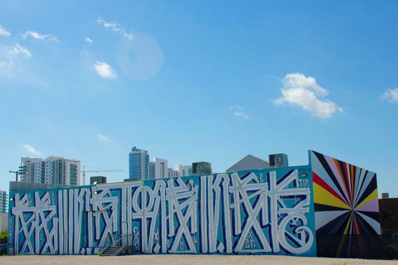 Ciudad entre Grafitis